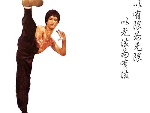 《截拳道之道》作者:李小龙  - 宝宝醒来了 - 你就是那完美的展现